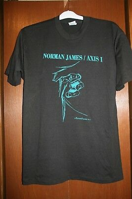 "Vtg Norman James / Axis I T-Shirt ""the Hand That Shreds""  Size Xl.. Uniontown Pa"