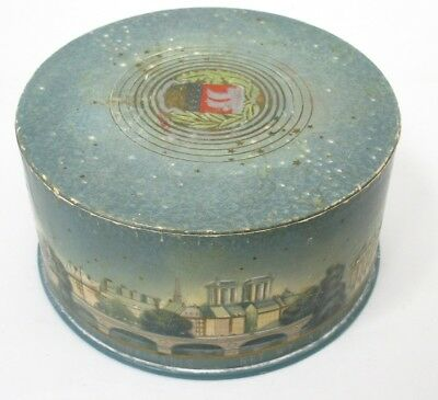 Vintage 5.25 oz COTY Poudre De Toilette Au Parfum, DUSTING POWDER Box, Full