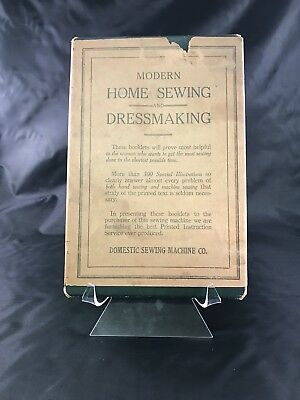 Antique 1926 Institute Modern Home Sewing And Dressmaking Pattern Illustrations