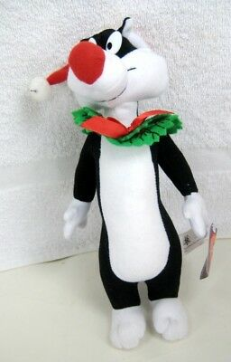 Looney Tunes SYLVESTER with Wreath Xmas Plush Doll
