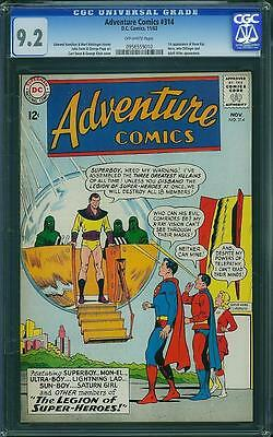 Adventure Comics #314 CGC 9.2 OW