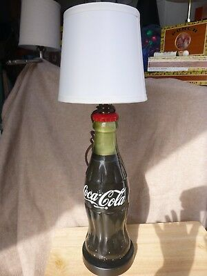 "14"" tall coke bottle light, one of a kind ,a coke collectors must have"
