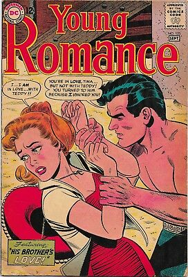 DC Young Romance Issue #125, Sep 1963 (1st DC Issue)