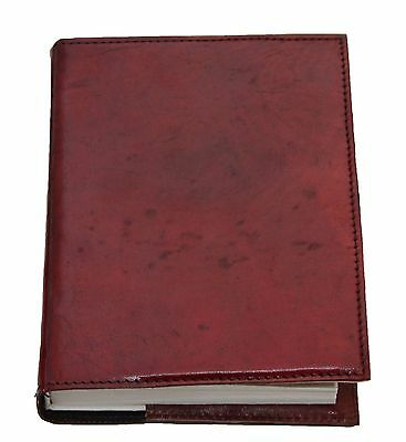 Handmade Genuine Leather Journal with Handmade Parch Paper & Hard Cover Refill