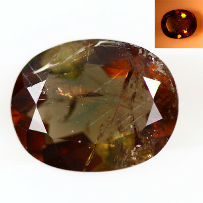 1.535 Ct  Earth Mined Unique Dazzling 100% Natural Dancing' Color Change Axinite