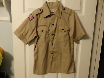 Youth Medium Boy Scout Shirts   3 Available At $11.99 Each #73
