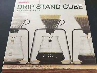 Hario Coffee Drip Stand Cube Clear DSC-1T from JAPAN