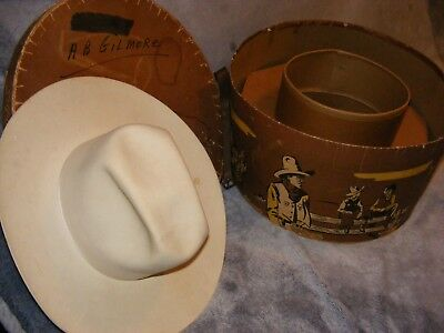 Vintage Resistol Hat Presented to Buick Auto Dealerships W/Original Box