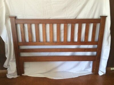 BEDHEAD, Queen size, Wentworth Brand, Solid Victorian Ash. As New.