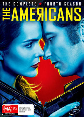 THE AMERICANS - SEASON 4  - Official DVD - UK Compatible  - Sealed
