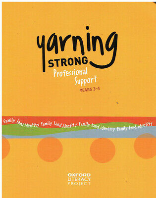 Yarning Strong: Professional Support Years 3 - 4. LIKE NEW!