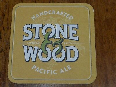 1 x STONE & WOOD PACIFIC ALE BEER COASTER XM1
