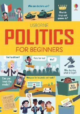 Politics for Beginners by Louie Stowell Hardcover Book Free Fast Shipping New
