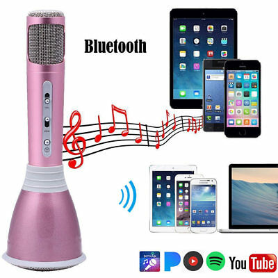 K068 Portable Home KTV KARAOKE MICROPHONE MICRO Player Haut-Parleur Bluetooth