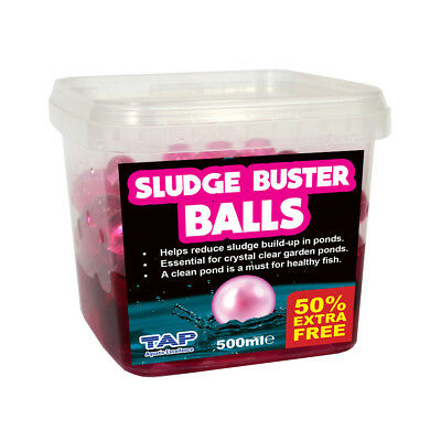 Tap Pond Sludge Buster Gel Balls 500Ml + 50% Extra Free Treatment Waste Remover