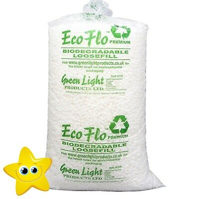 10 Cubic Ft Bag of ECOFLO Biodegradale Loose Fill OFFER