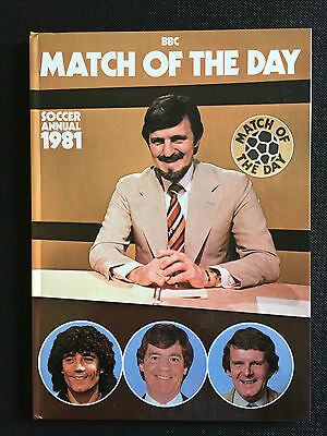 Match of the Day Annual 1981, Unclipped, No Writing, Great Condition