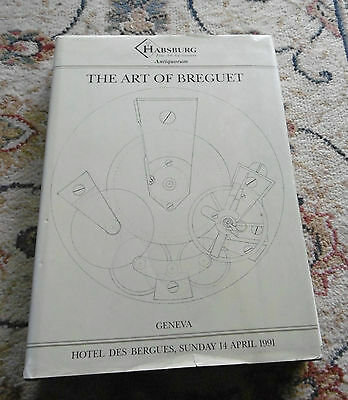 Buch book The Art of Breguet - Hotel des Bergues, Sunday 14 April 1991 -