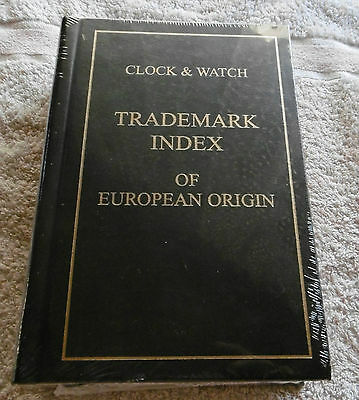 Buch book Clock & Watch Trademark Index of European Origin