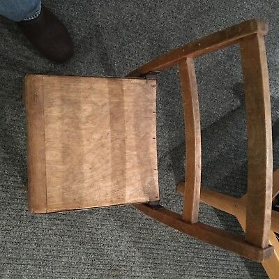old school wood chairs