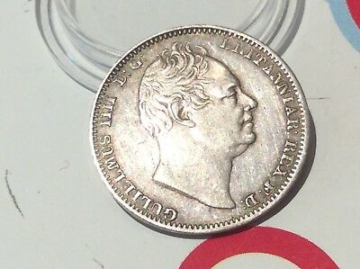 Maundy Fourpence dated 1831. Excellent grade. AUC. Rare in this condition.