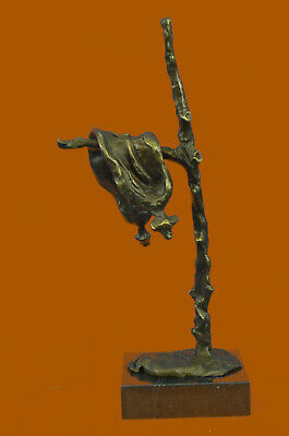 "Salvador Dali Bronze Sculpture ""Persistence Of Memory"" Signed Collectors Sale"