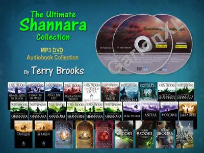 The Ultimate SHANNARA Complete Series By Terry Brooks (29 MP3 Audiobooks)