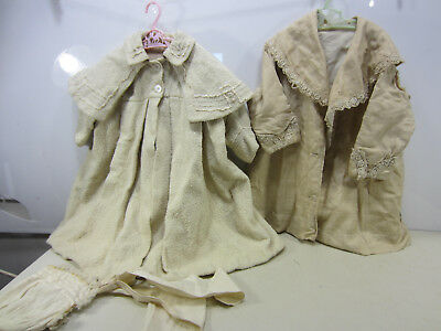 2 Antique Edwardian Era Children's Coats