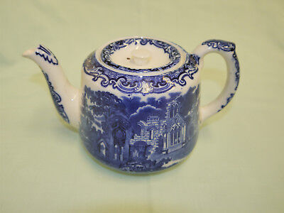 George Jones & Son Abbey 1790 Transferware Teapot with lid circa 1901