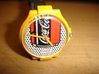 Coca-Cola Advertisement Quartz  Watch Swiss Made Similar To Swatch