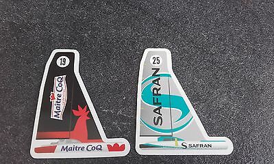 LOT DE 2 MAGNETS MAITRE COQ Vendée globe