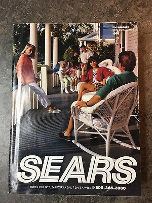 Vintage 1991 Sears Roebuck  Spring Summer Catalog