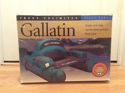Brand New Classic Accessories Float Tube The Gallatin Trout Unlimited