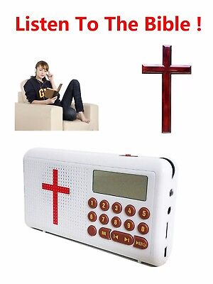 Wonder Bible Audio Player  Listen to the Bible Version Anytime Anywhere White