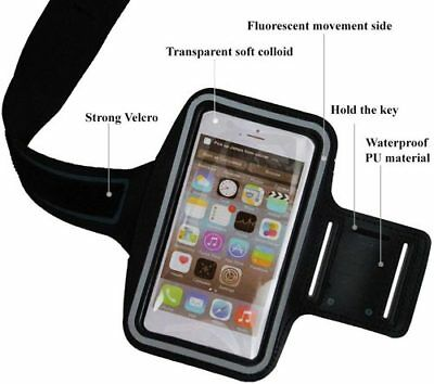 Sports Exercise Armband Phone Holder for Apple iPhone 4 4S iPod Black