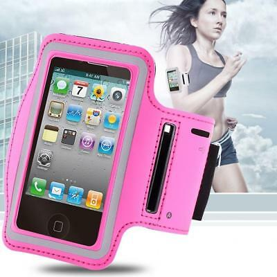 Sports Exercise Armband Phone Holder for Apple iPhone 4 4S iPod Pink