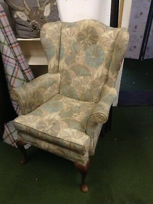 Parkerknoll Wingback Armchair Upholstery Service Available