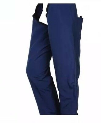 Full Length Waterproof, Fleece Lined Horseriding Chaps Size XL
