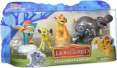 Disney Junior The Lion Guard Collectible Figure Set with 5 Figures NEW
