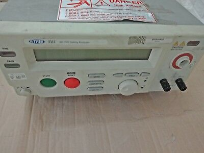 Nice Vitrek V61 Fully Automated AC/DC Safety Analyzer / Hipot Tester with RS232