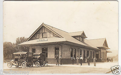 RPPC - The Dalles, Oregon - Railroad Depot - 1915