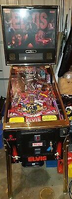 Elvis Gold Limited Edition Pinball Machine -  By Stern 2004 !! 1 Of 500 !!