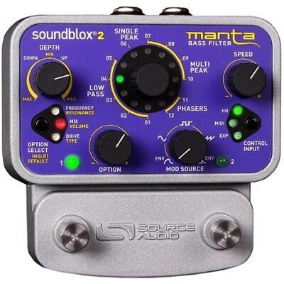 Source Audio Soundblox 2 Manta Bass Filter | Neu