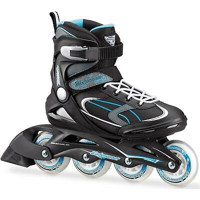 Bladerunner 2018 Advantage Pro XT Womens Inline Skates - Black / Light Blue