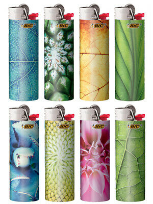 BIC Special Edition Nature Series Lighters, Set of 8 Lighters