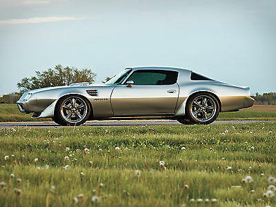"1973 Pontiac Trans Am muscle classic hot rod Mini Poster 24""x16"" HD"