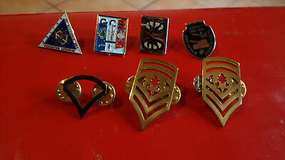 pin s militaire et police