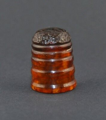 Russian Amber Thimble - Sale Collection