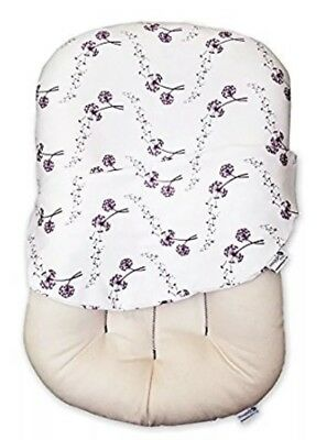 Snuggle Me Organic Baby Lounger and Bed-Sharing Cushion w/ Cover