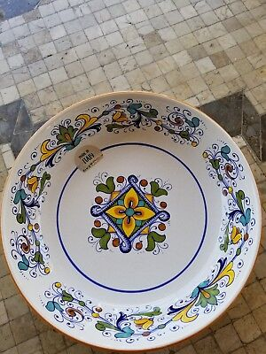 Deruta Italy Nova Large Bowl Made In Italy Nwt Free Shipping
